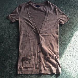 GAP short sleeve cardigan